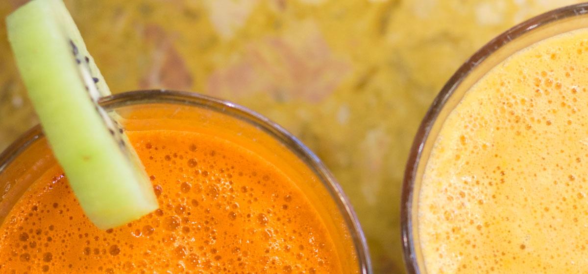 Menu caffetterie Bottega del Caffè Dersut – Centrifughe salutari frutta fresca