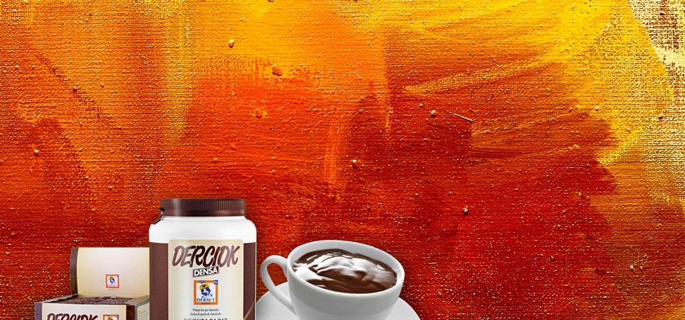 Menu caffetterie Bottega del Caffè Dersut – Derciok cioccolata calda aromatizzata cacao